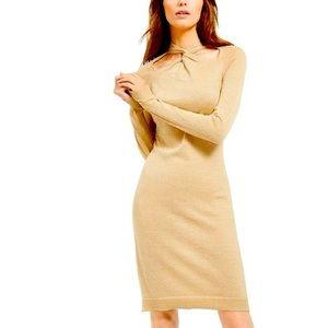 Michael Kors Twist Neck Dress